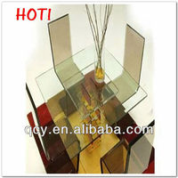 Shenzhen Acrylic End Table With Magazine Rack