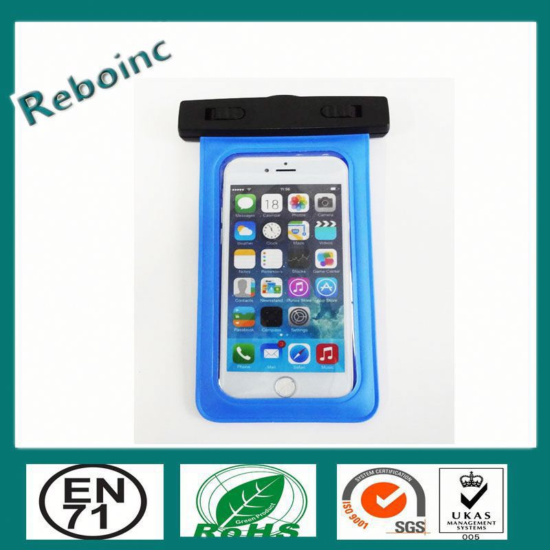 2015 mobile phone pvc waterproof case pvc waterproof cover