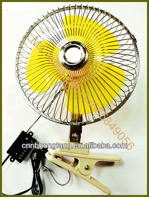 6 Inch 12 Volt Fan : Dc volt inch mini car fan buy portable