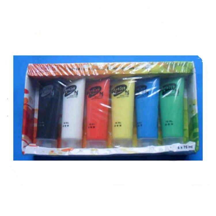 Professional Paints DIY Paint on Canvas, Wood, Glass Acrylic Paint Set non-toxic Acrylic paint for kids