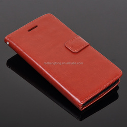 2015 New Product for Asus Zenfone 5 Classic Leather Case with Card Slot Money Pouch