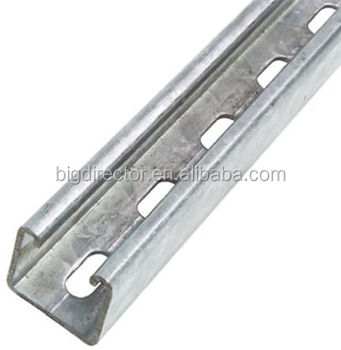 double c shape welded Steel Unistrut Channel