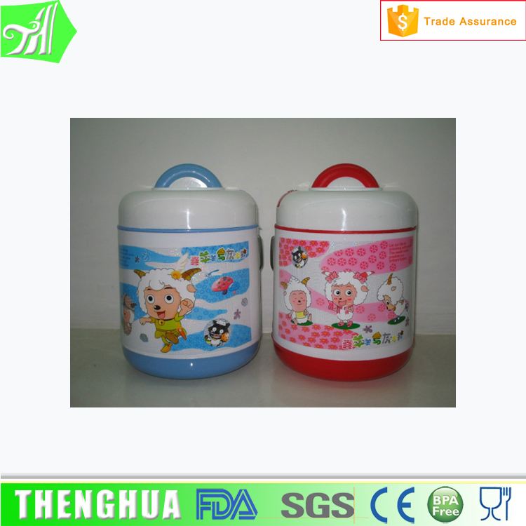 Vacuum insulated lunch box heat insulation bottle two container lunch jar food jar lunch box