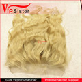 Vipsister Hair sew in human hair extensions blonde 360 frontal piece