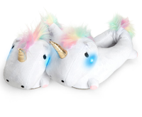 Creative Light Up Unicorn Slippers Plush