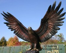 Brass/Bronze Eagle Sculpture