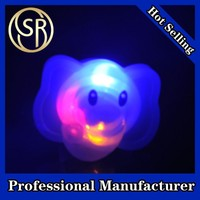 artifical led Soft Flicker fashion finger rubber rings for holiday supplies
