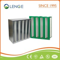 High quality W-Type HEPA air filter for air conditioning