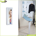 Shenzhen Godlife warehouse Wooden wall mount mirror ironing board cabinet with storage and save space