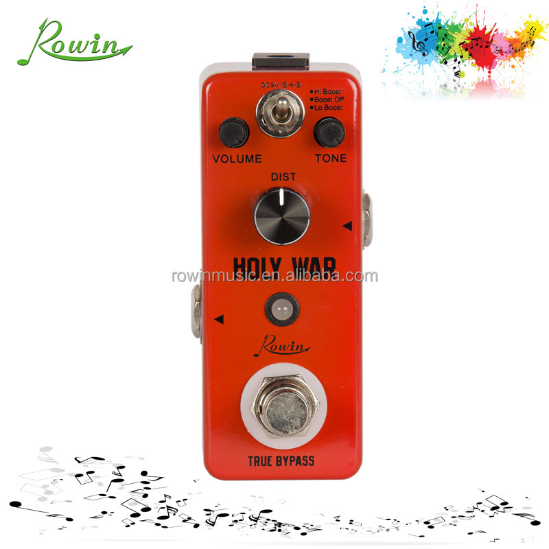Distortion Effect Pedal Holy War LEF-305 for world musical instrument korea