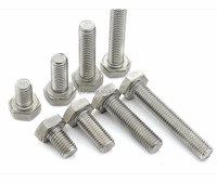 din933 M6-M24 A2-70 A4-70 A4-80 stainless hexagon nuts and bolts