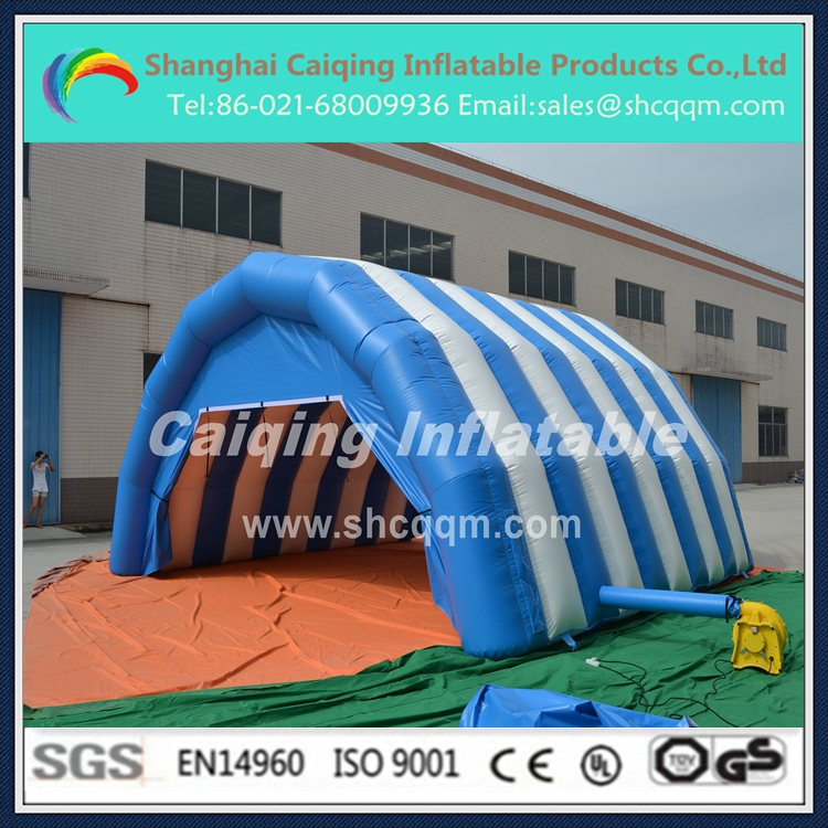 inflatable tent tunnel for sale/inflatable advertising tunnel tent