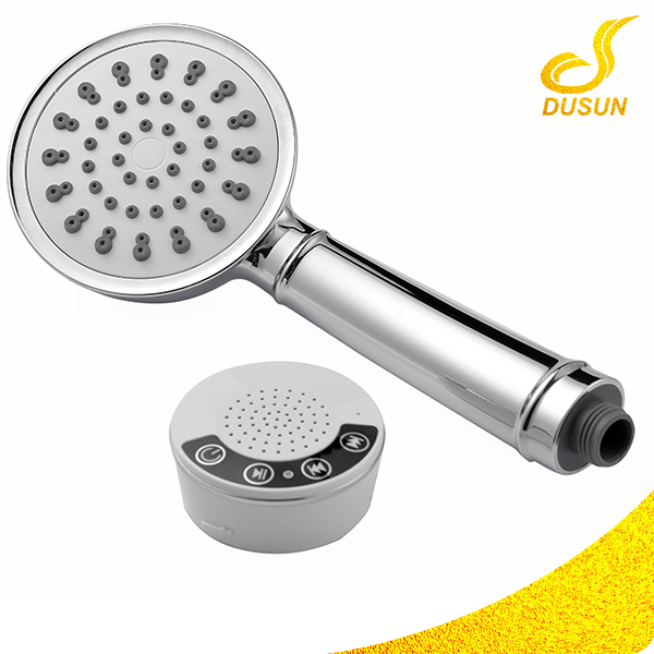 New Innovation Bluetooth wireless music shower phone speaker hand shower head