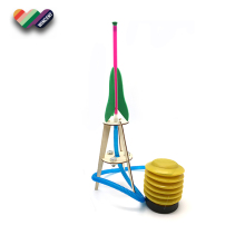 DIY Air Pump Rocket Physical Education Equipment