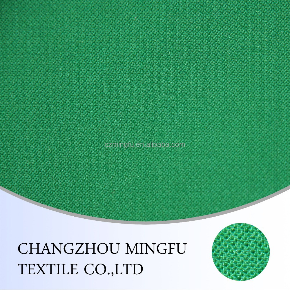 50% wool 50% polyester green colour tweed fabric, for women and men suiting,coat,upholstery
