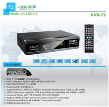 JUNO Global popular dvb t2 tv set top box High quality 1080P digital smart receiver supports mepg4/5