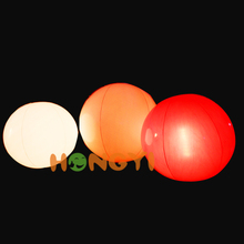 LED lights colorful novelty inflatable ball disco decoration ball custom model