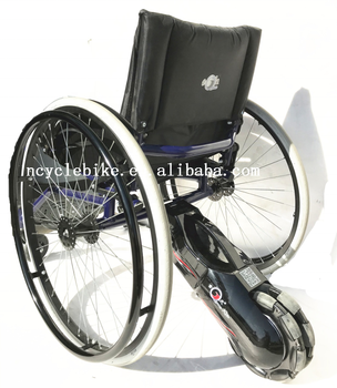 Foldingable wheelchair motorized electric used with joystick controller for electric wheelchair