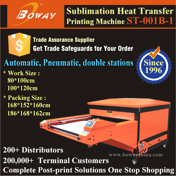 Pneumatic Automatic Large Double Stations Sublimation ceramic tile heat press machine