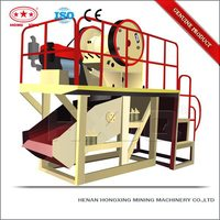Mining equipment recycling small mobile coal crusher