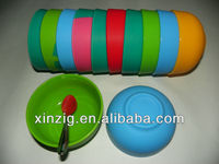 Eco-friendly microwave safe silicone bowl