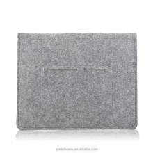 Whosale Soft Woollen felt laptop Bag sleeve Material Easy Carrying case