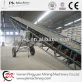 Bagged cement mobile belt conveyor 5 meters to 20 meters
