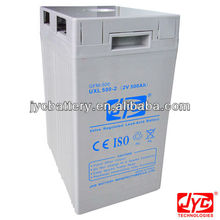 Professional solar battery 2V500AH for backup power supply UXL 200-2 (2V 200Ah) UXL 500-2