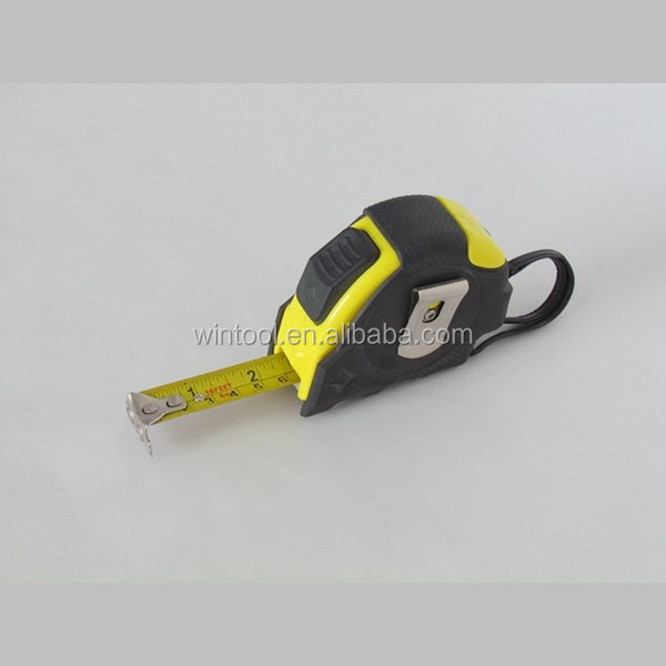 Lockable Button 5 Meter 16Ft Pocket Ruler Tape
