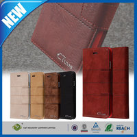 C&T universal smart phone wallet style leather case for i phone6