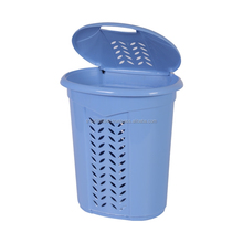 cheap plastic laundry basket with cover for your special clothes