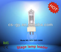 500w gy9.5 light for tv and video halogen bulbs lamp GCV