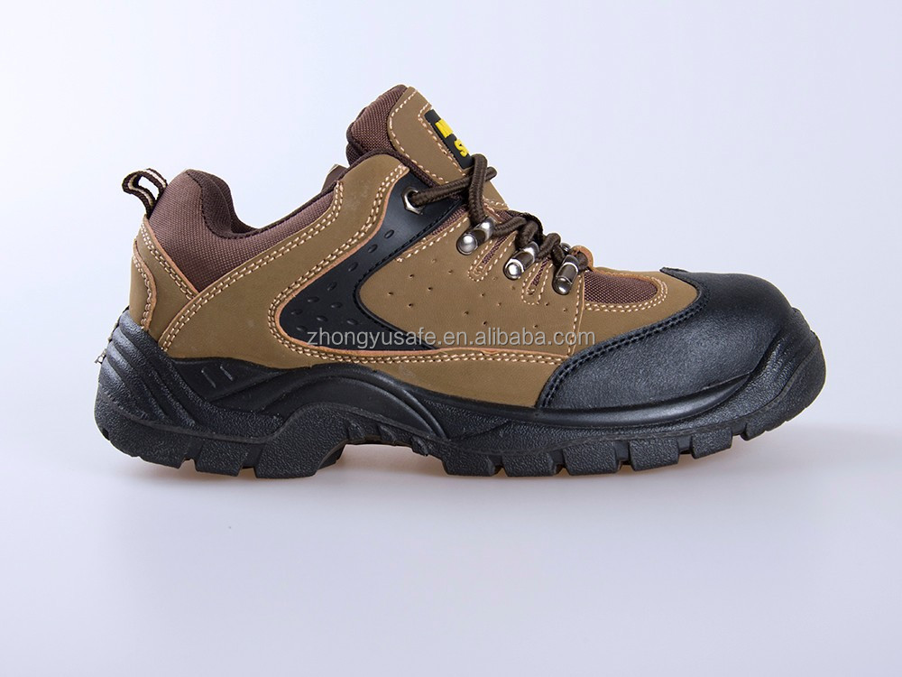 Italian lightweight leather house Safety shoes sport for men Steel Toe Cap Ankle work Boots