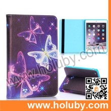 Side Flip Stand TPU+ PU Leather Elastic Belt Case for iPad Mini / iPad Mini 2 Retina / iPad Mini 3