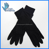 China made 100%silk thermal glove liners/silk sport glove liners