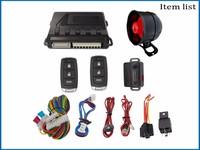 Factory price automotive keyless door lock unlock valet car alarm with original remote