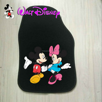 Cute Cartoon Mickey Mouse Car Floor Mats with Disney FAMA Certificate