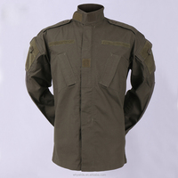 Ripstop polyester cotton Olive Green Military Shirts and Pants