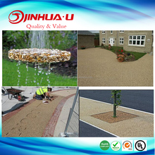 Super Adhesive Epoxy Resin With Gravel / Crush Stone/ Marble For Garden Floor Design