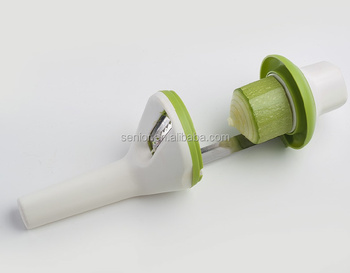 Manual Spiral Slicer rotary Vegetable Spiralizer Kitchen Slicer