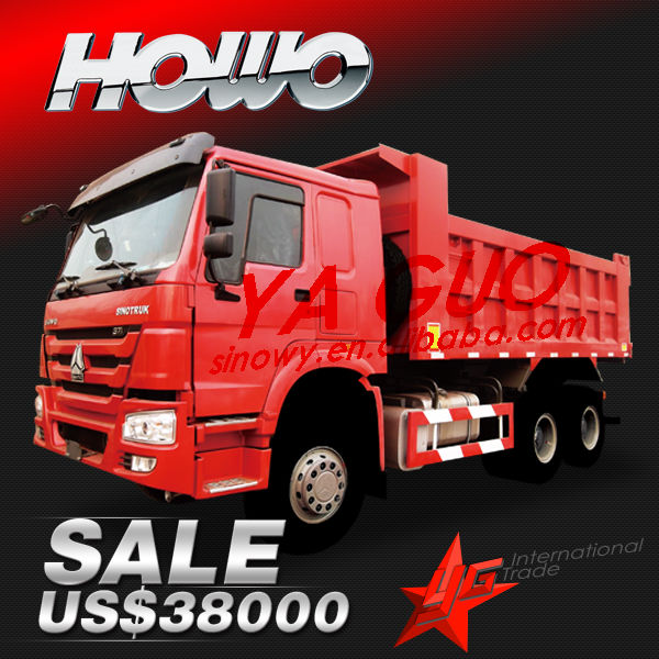 howo for 6X4 erf truck