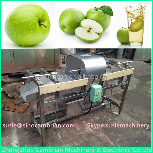 Cider wine making used semi automatic apple peeling machine with low price