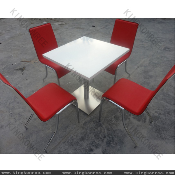 KKR solid surface catering table and chair restaurant opportunity