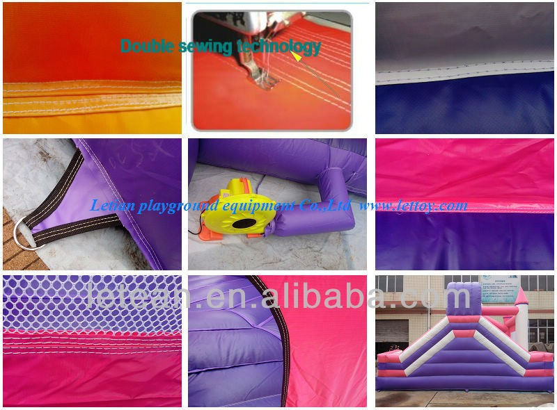Manufacturer supply giant inflatable water slides with competitive cost