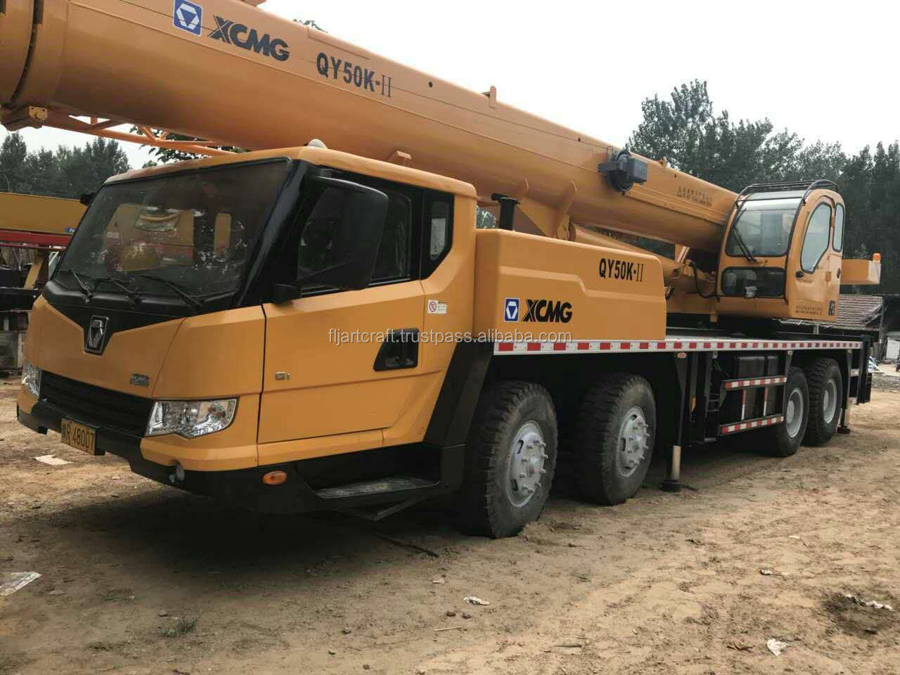 2016 year used XCMG QY50k-II 50T lifting truck  crane for hot sale