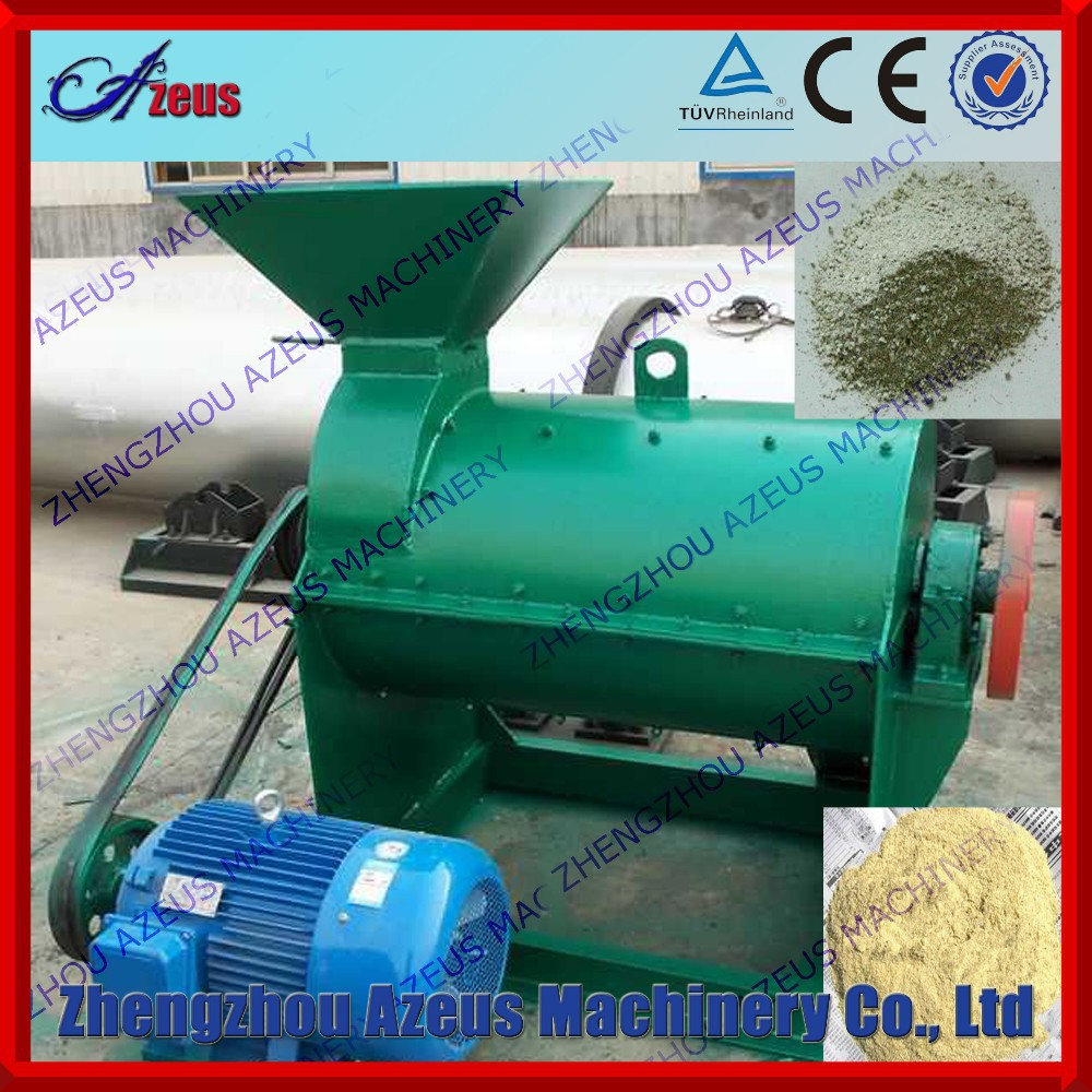 Grinding Equipment Fertilizer : Organic fermentation material grinder for fertilizer