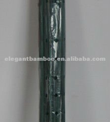 Dyed bamboo plant stake on green,red,brown colors