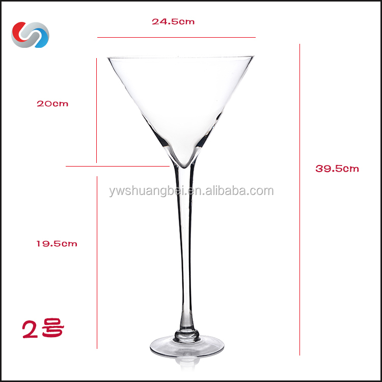 Multifunctional glass champagne flute for wholesales