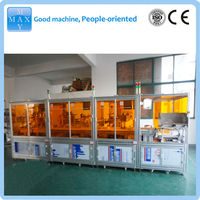 Automatic vacutainer filling capping and labeling machine