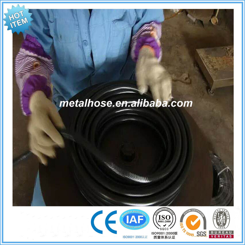 high pressure flexible gas cooker hose natural gas PVC resin hose pipe